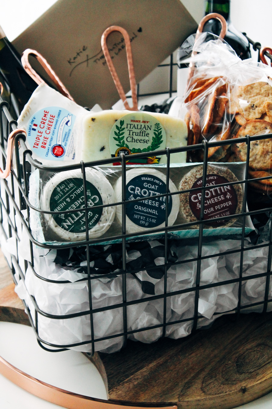 the ultimate cheese board gift basket | plays well with butter