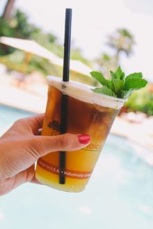 perfect mai tais via playswellwithbutter | your hawaiian vacation may be over but your enjoyment of tropical cocktails doesn't have to be! make a mai tai at home easily with ingredients you already have at home!