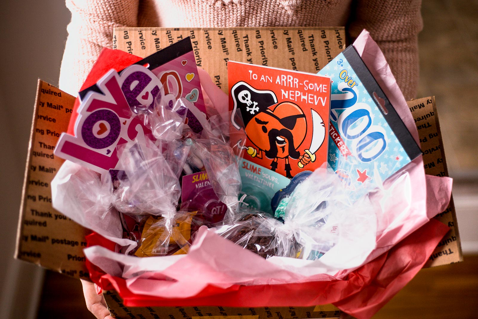 How To Build A Valentine S Day Care Package For Your Niece Or Nephew