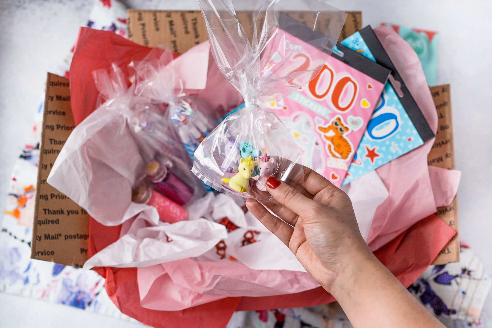 how to put together a valentine's day care package for a niece & nephew. tips & tricks for aunties to spoil their favorite little ones, even from a distance
