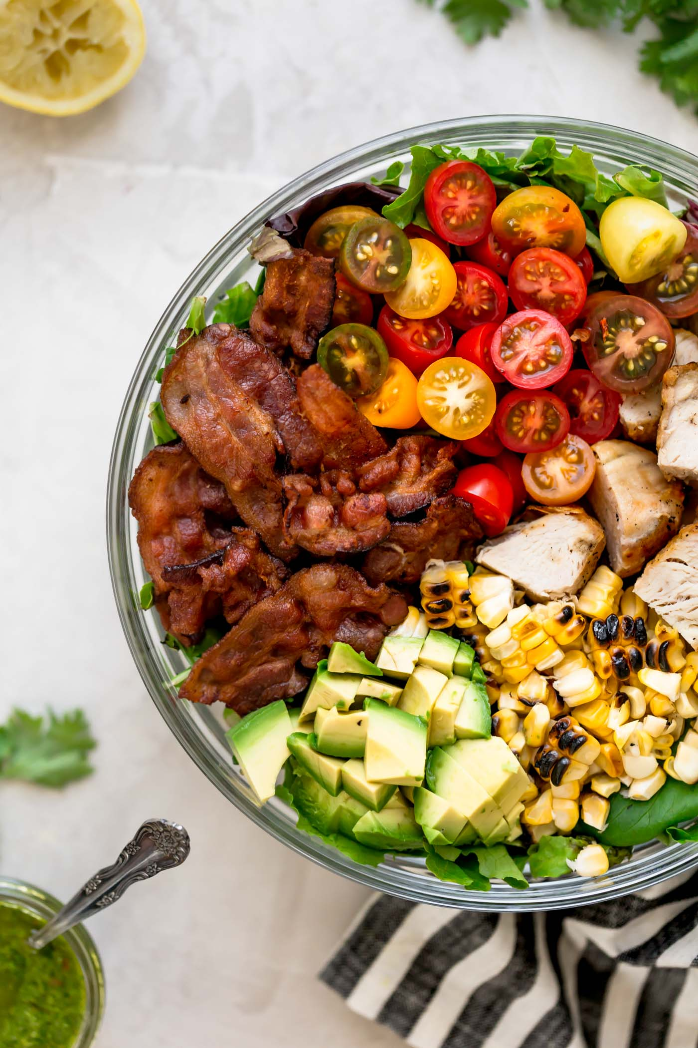 ... A Light U0026 Fresh Blt Salad For Summer Loaded With Bacon, Cherry  Tomatoes, Sweet