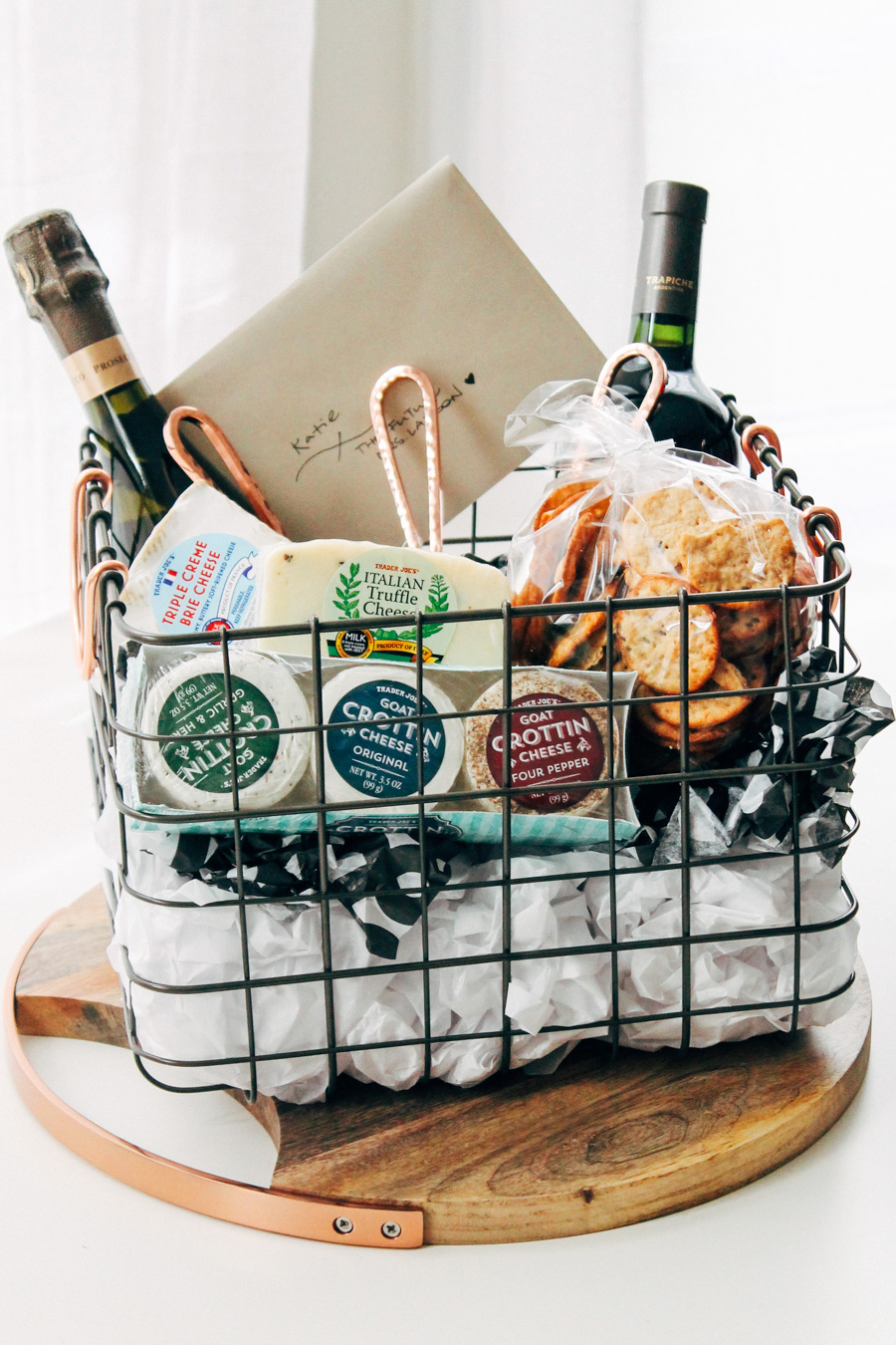 ... the ultimate cheese board gift basket | plays well with butter