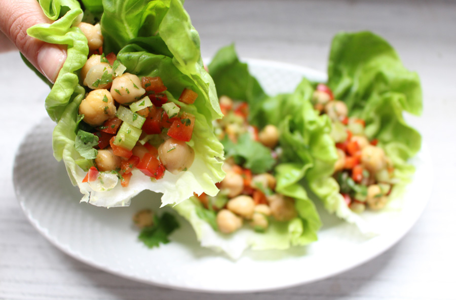 chickpea crunch salad via thyme & toast & 24 more make-ahead meals via playswellwithbutter | with just a little planning in advance & a little organization over the weekend, you can set yourself up with a week's worth of delicious meals that will come together faster than you could order pizza or pick up chipotle.