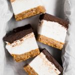 omg bars (s'mores bars with homemade vanilla bean marshmallow)