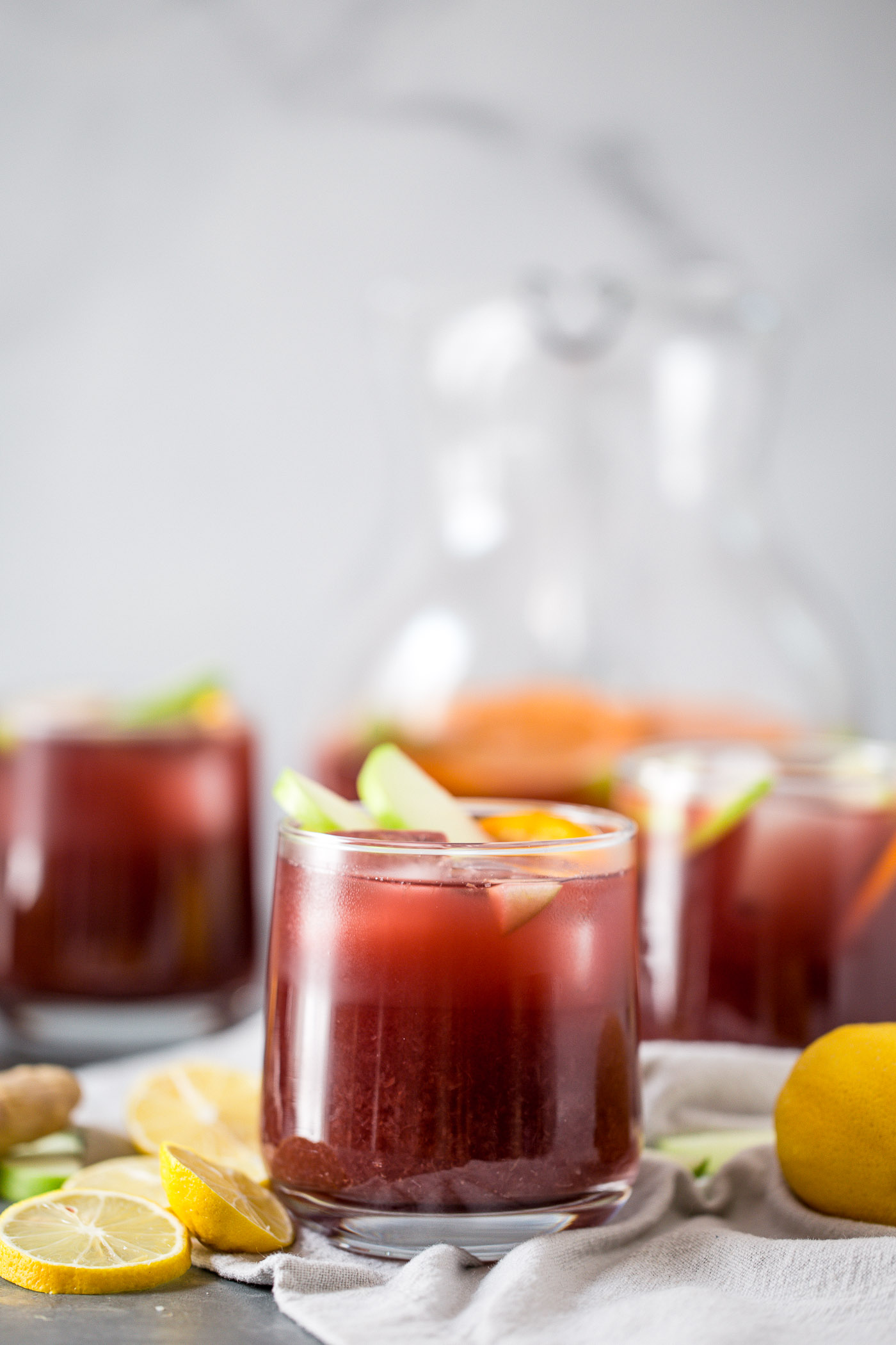 this two buck chuck sangria is an easy & inexpensive red wine sangria recipe featuring trader joe's famous charles shaw wine. make two buck chuck sangria one pitcher at a time - the perfect drink to serve at girls night, holiday parties, dinner parties, & more! #playswellwithbutter #sangria #drinkrecipe #twobuckchuck #traderjoes #traderjoesrecipe