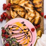 whipped raspberry goat cheese spread