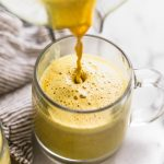 easy golden turmeric latte