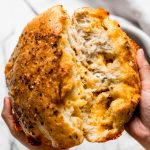 no-knead spicy cheese bread