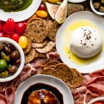 the ultimate burrata cheese board