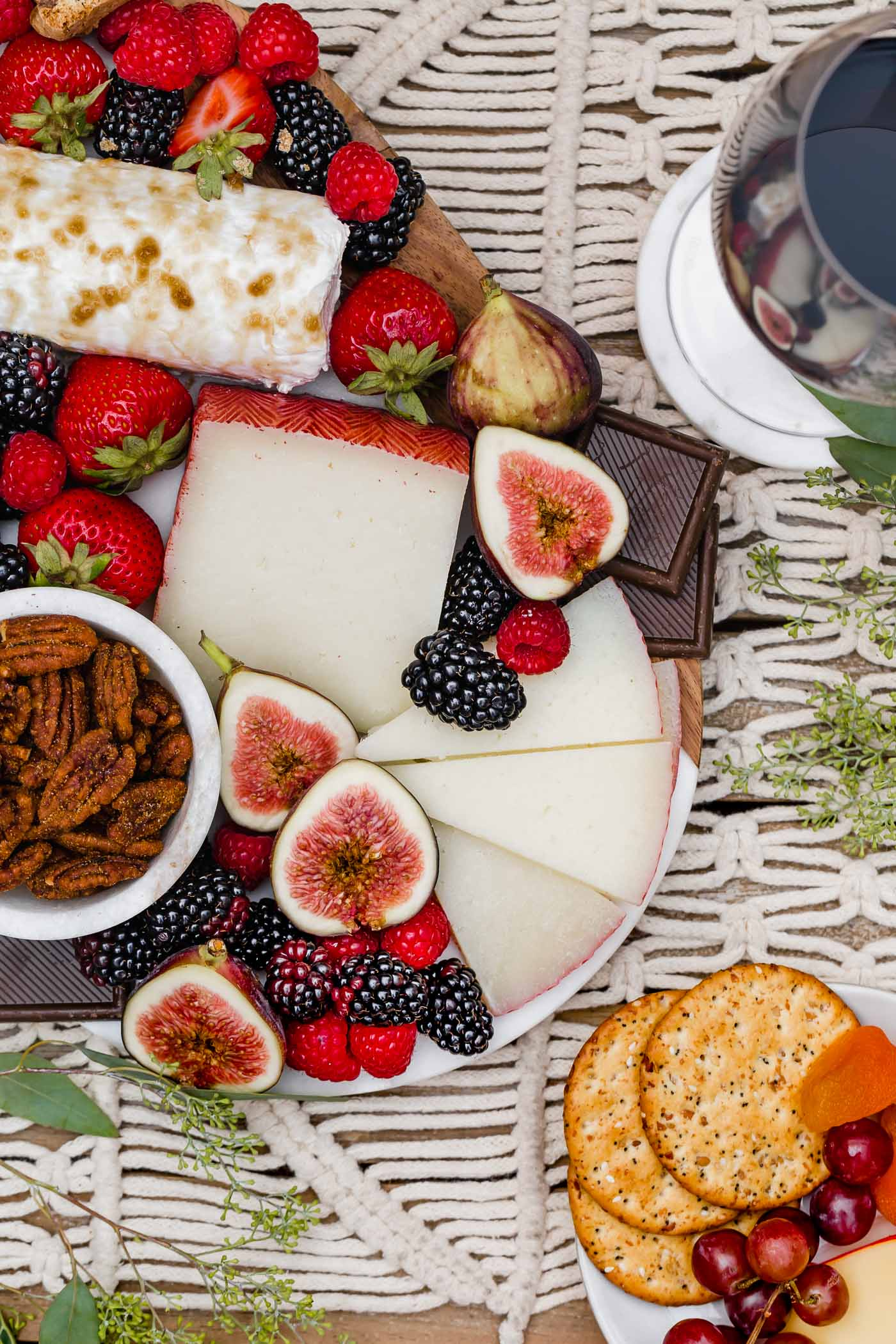 Christmas Cheese Board Ideas.Dessert Cheese Board