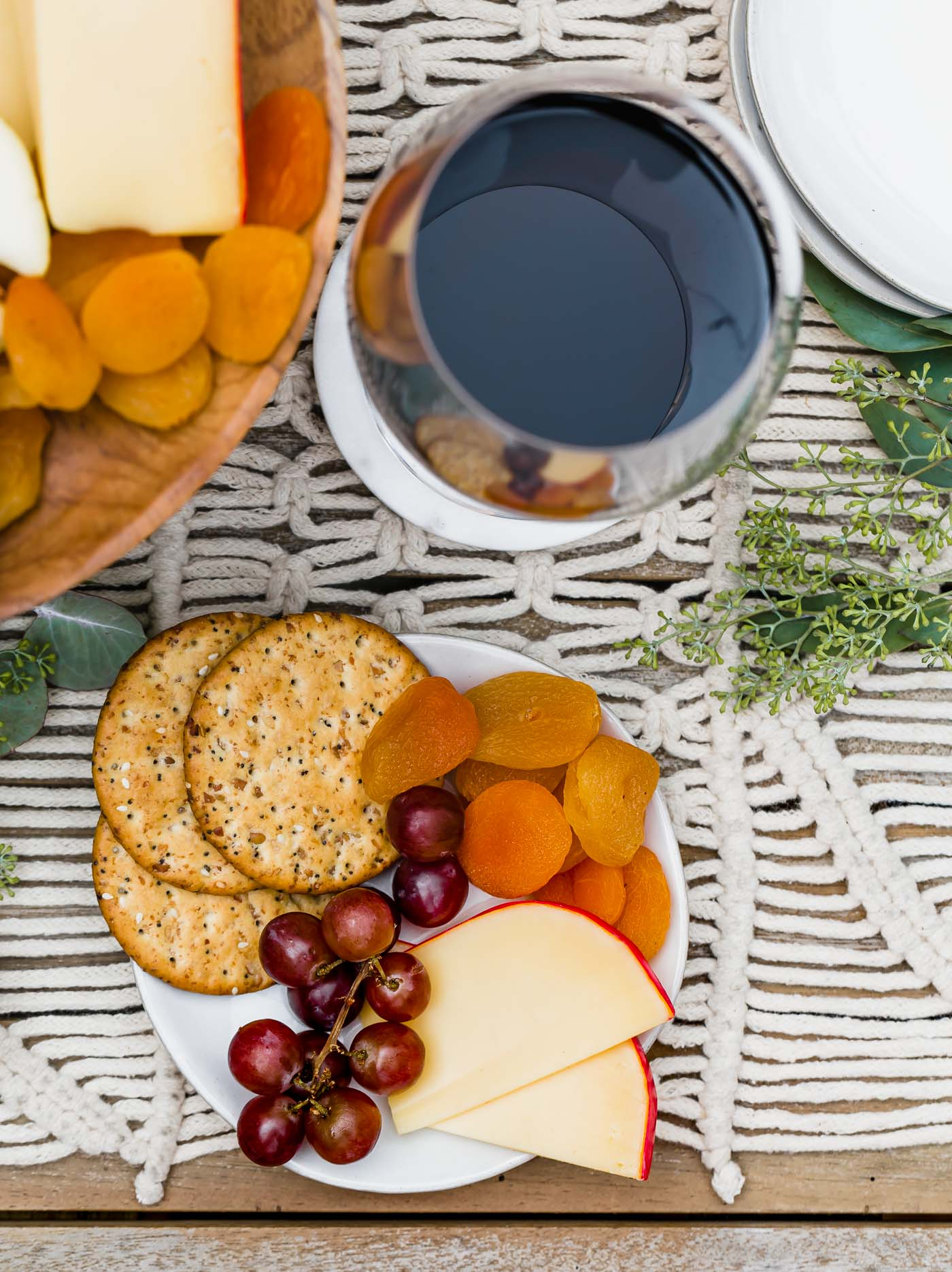 this dessert cheese board is filled with after-dinner cheeses, fresh berries & fall fruits, & includes the perfect wine pairings! the best snacks & appetizers to serve for the ultimate girls night or dinner party this fall. #playswellwithbutter #cheeseboard #dessertcheeseboardideas #cheeseboardideas #girlsnightideas #girlsnightsnacks #girlsnightappetizers #cheeseboardforfall #cheeseboarddisplay #howtomakeacheeseboard