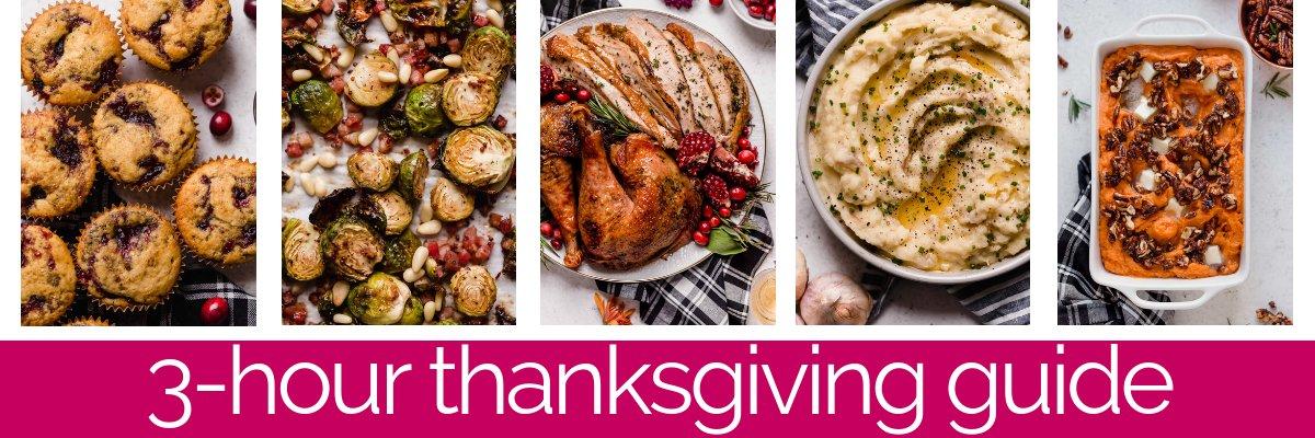 3-hour thanksgiving banner