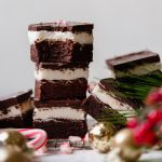 the reilly family's dark chocolate peppermint brownies