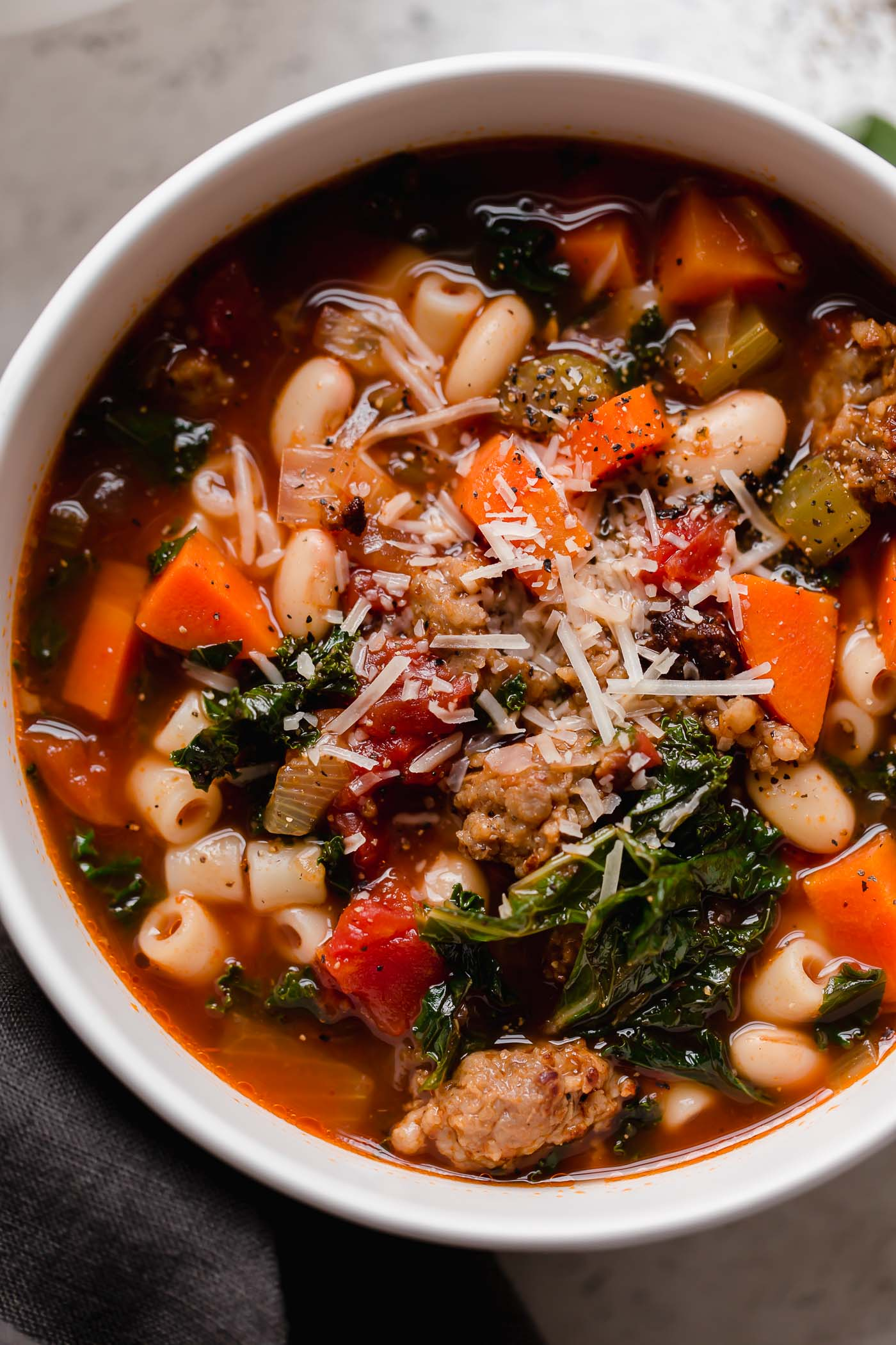 Hearty Minestrone Soup Recipe The Best Plays Well With Butter