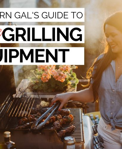 a modern gal's guide to must-have grilling equipment. the first step in gaining confidence behind the grill is having a solid grilling set up. this post will walk you through some must-haves when it comes to setting up your grill this summer! #playswellwithbutter #grilling #grillingtips #grillingstation #outdoorgrilling #grillingDIY