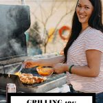 Grilling 101 graphic with text overlay for Pinterest