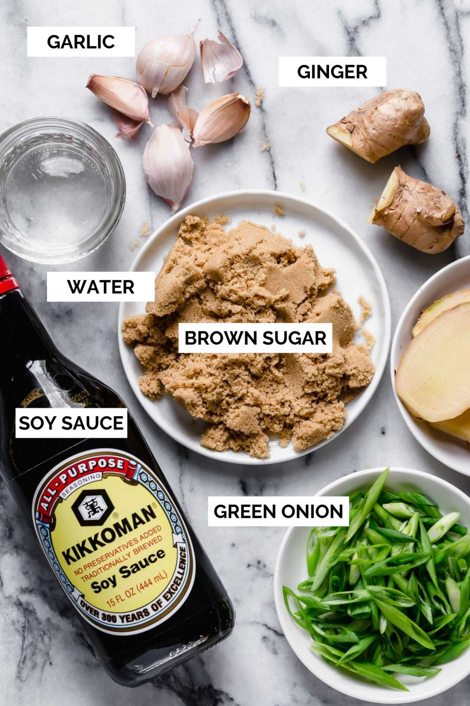 My mom's teriyaki recipe is the perfectly balanced teriyaki sauce, with just the right amount of umami from soy sauce, ginger, & garlic, & a beautiful sweetness from brown sugar, which helps create an addictively caramelized crust on whatever you're grilling. The perfect teriyaki sauce recipe to make teriyaki chicken, teriyaki beef, or teriyaki burgers! #playswellwithbutter #marinaderecipe #easymarinade #grillingrecipes #teriyaki #teriyakisauce #teriyakimarinade #teriyakichicken #teriyakibeef
