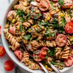 vegan southwest pasta salad recipe