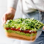 Deep Dish Vegan 7-Layer Dip Recipe