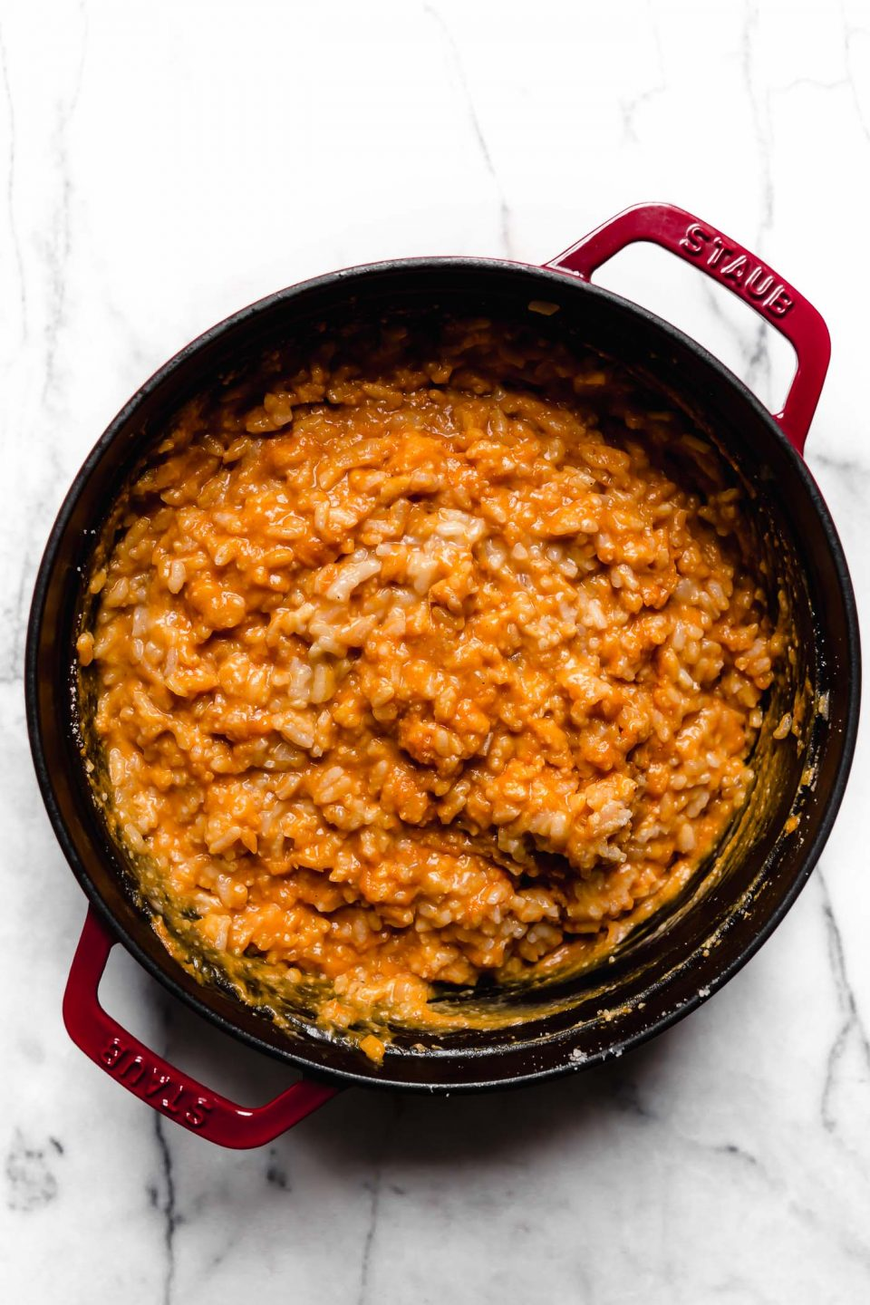 No-Stir Pumpkin Risotto.