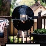 How to choose a charcoal grill graphic with text overlay for Pinterest.