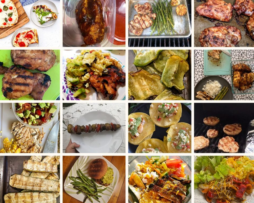 PWWB Grilling Challenge Entries collage.